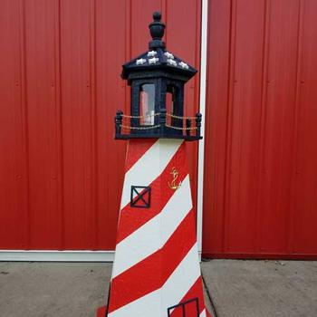 amish built exterior lighthouses