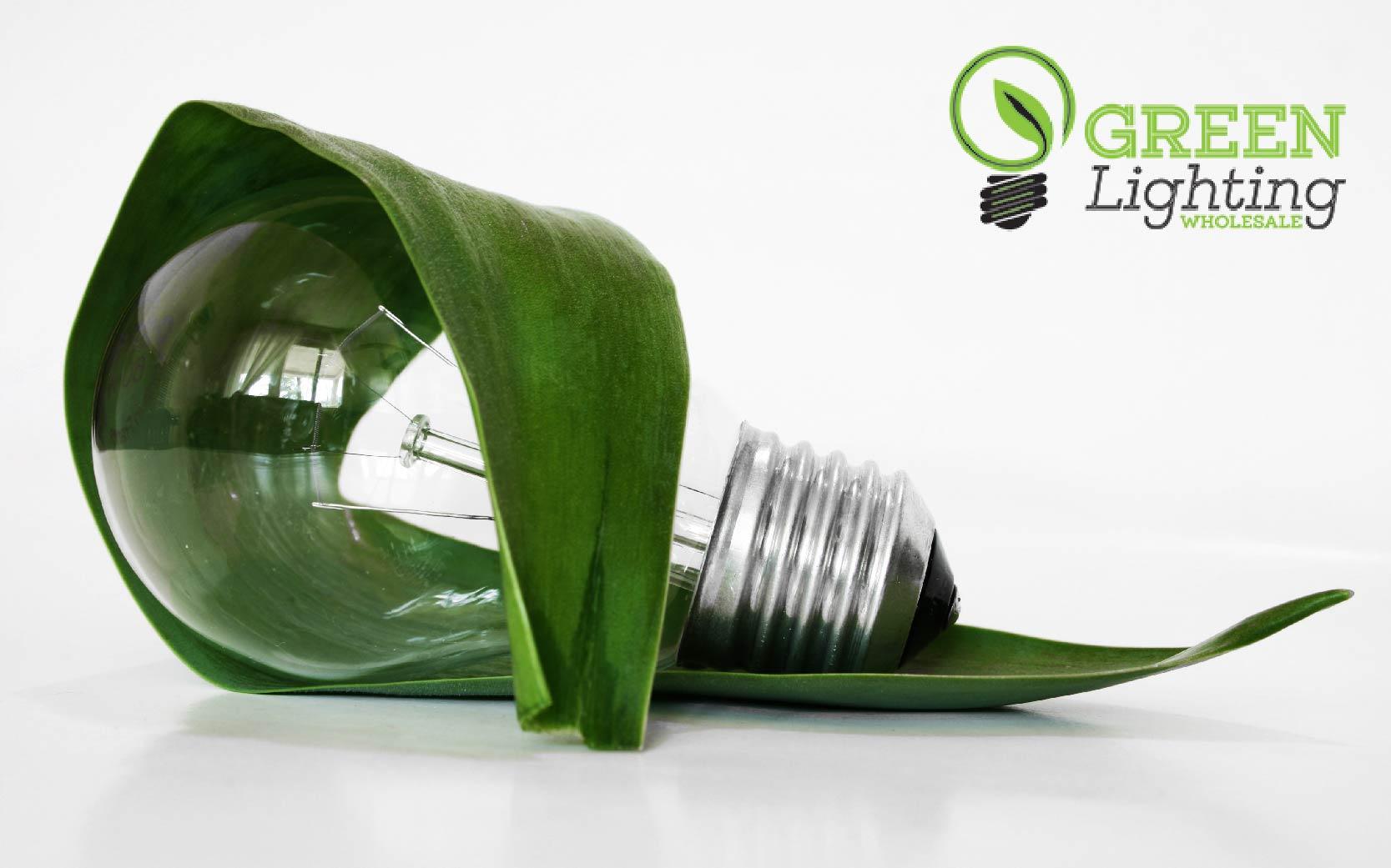 Green lighting and fixtures