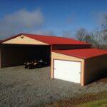 50x41x12x8-Horse-Barn-with-6x7-Garage-Doors